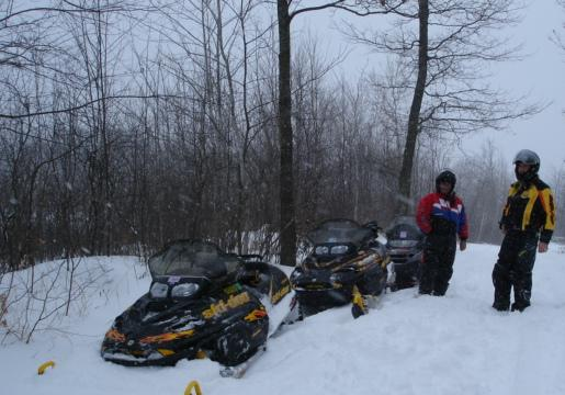 Northern Pine Riders Snowmobile Club, Willow Rivers, Minnesota